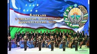 Конституцияга бағишланган катта концерт дастури || Фақат жонли ижро
