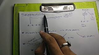 Mucopolysaccharides | GAGs | Polysaccharides || PART 1