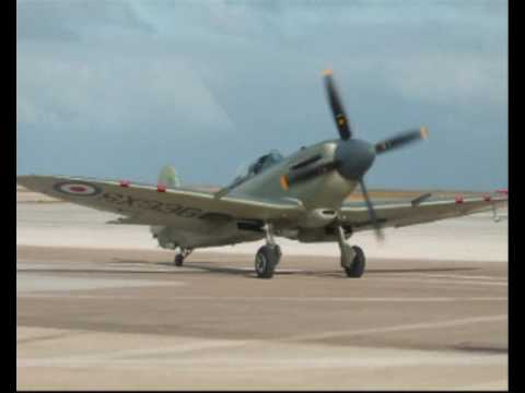 Seafire Mk17 at Jersey 09