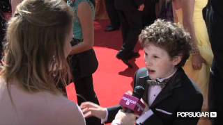 Nolan Gould Talks Modern Family's New Season and New Baby Lily at the 2011 Emmy Awards