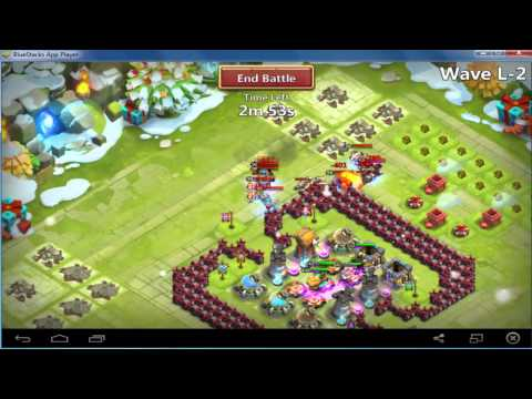 Castle Clash - Base Design Th 15 For HBM K & L