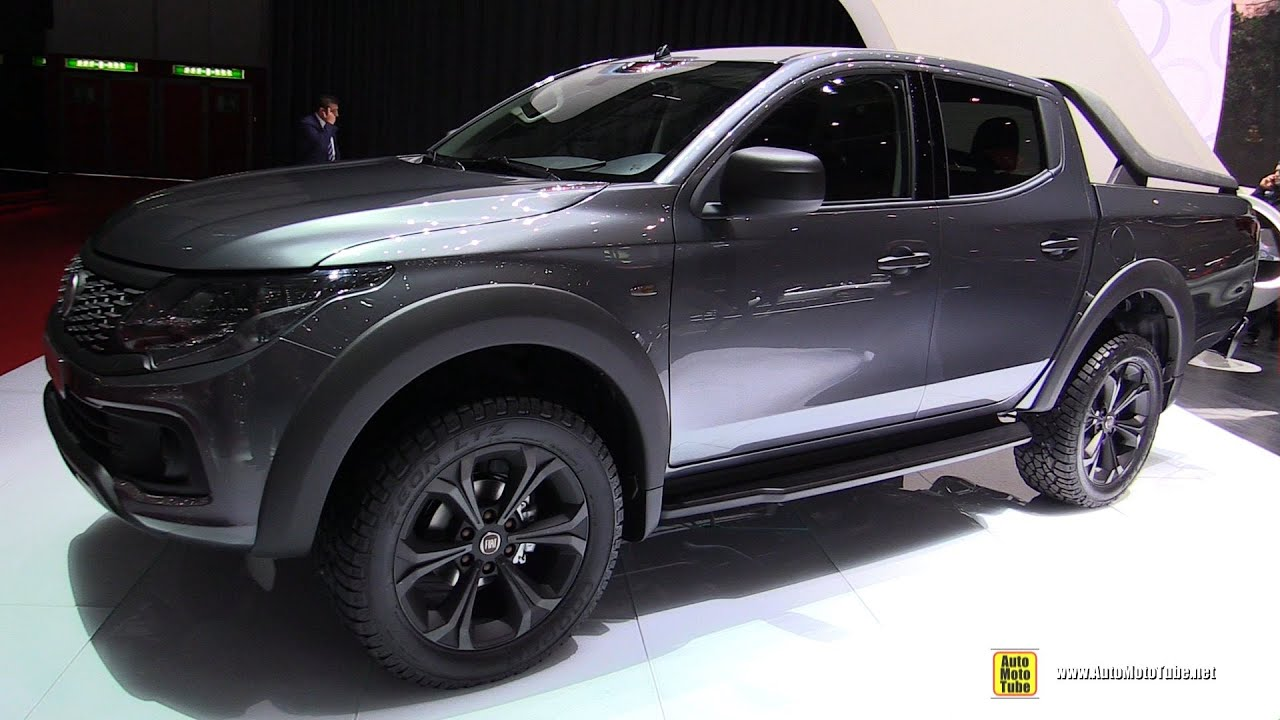 2016 fiat fullback truck exterior walkaround 2016 geneva motor show youtube. Black Bedroom Furniture Sets. Home Design Ideas