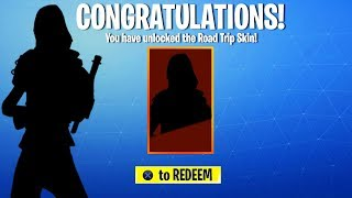 *NEW* ROAD TRIP SKIN REVEALED in Fortnite... (Fortnite Battle Royale - NEW ROAD TRIP SKIN LEAKED!)