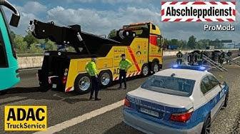 ETS2 I Abschleppdienst 🚚 Schwerer Unfall auf der A2 🔵 #1002 ProMods-Tour [Deutsch]