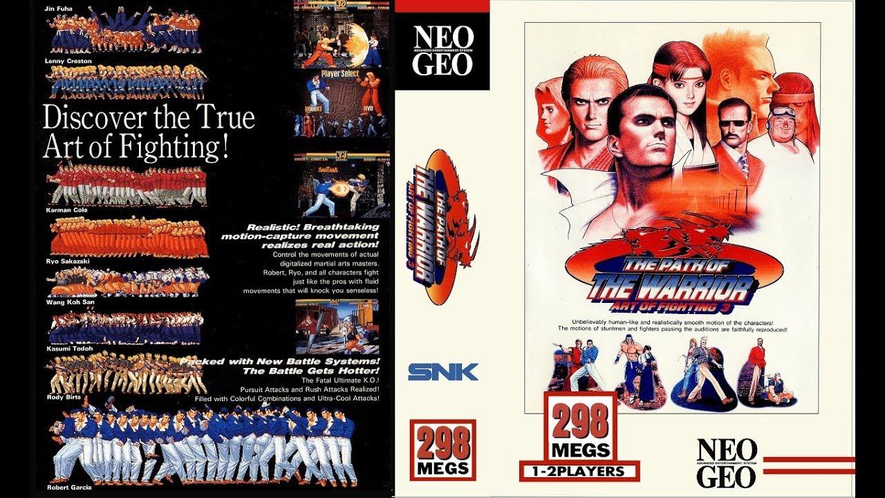Neo Geo Art Of Fighting 3 720p Hd Youtube