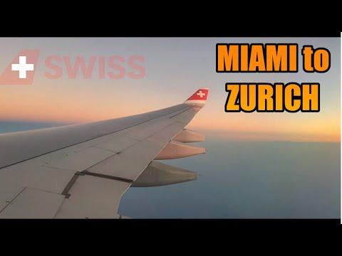 MIAMI✈️ZURICH | SWISS (Economy) | Airbus A330-342 | TRIP REPORT (#50)