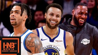 LA Lakers vs  GS Warriors - Full Game Highlights | October 18, 2019 NBA Preseason