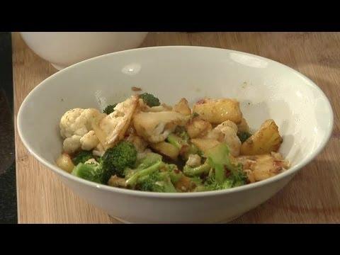 Broccoli, Cauliflower, & Pineapple Stir-Fry : Veggie Stir-Fry Recipes & More