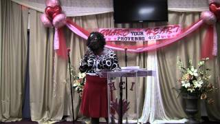 Womens Day 2011 - Sister Sylivia