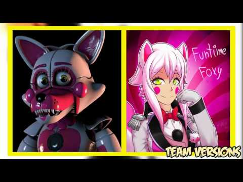 Five Nights at Freddy's: Sister Location Characters As Anime (video by Team Verrsions)