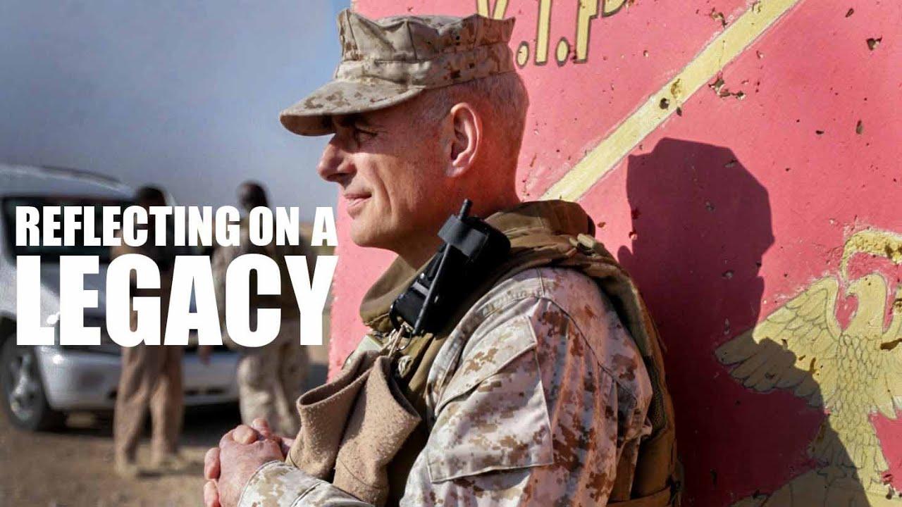 Reflecting on a Legacy   Gen. John F. Kelly