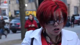 Ugly Feminist Protest at University of Toronto [mirror]