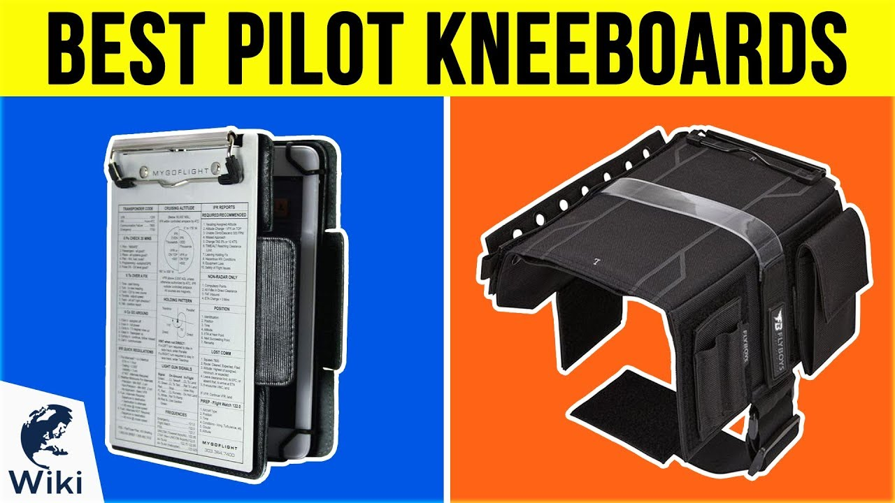 Flyboys IFR// VFR Reversible Pilot Kneeboard with Clipboard Black FB3316-BLK