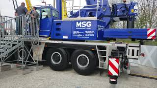 Video still for Grove Crane at bauma 2019