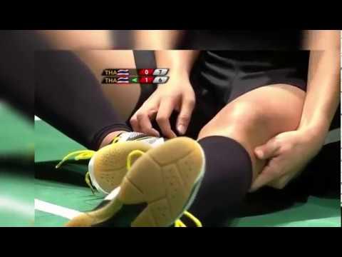 Detik detik Sapsiree Taerattanachai cidera di Final WD Badminton Sea Games 2017