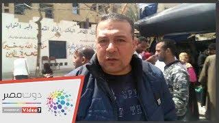 """الفنان عبدالحميد سند عقب الإدلاء بالاستفتاء: """"بنعمل الصح """""""