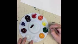 So erstellen Sie eine Farbe Rad!