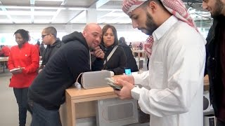 One of Adam Saleh Vlogs's most viewed videos: ARAB GUY BUYS EVERYONE AN iPHONE 6S!!!