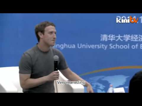 Mark Zuckerberg is speaking fluent Mandarin in Tsinghua university