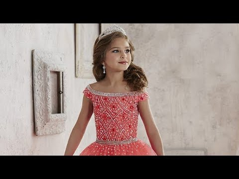 126eebe5b Tiffany Princess 13458 Pageant Dress - YouTube