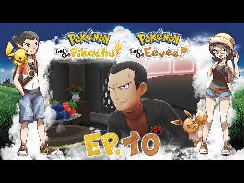 Gameplay Live Pokémon Let's Go Pikachu ed Eevee #10 - Giovanni e la Via Vittoria!