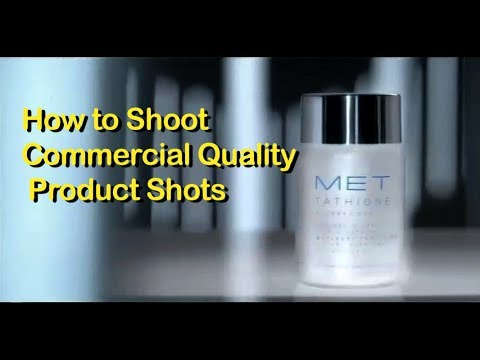 How to Shoot a Commercial Quality Product Shot