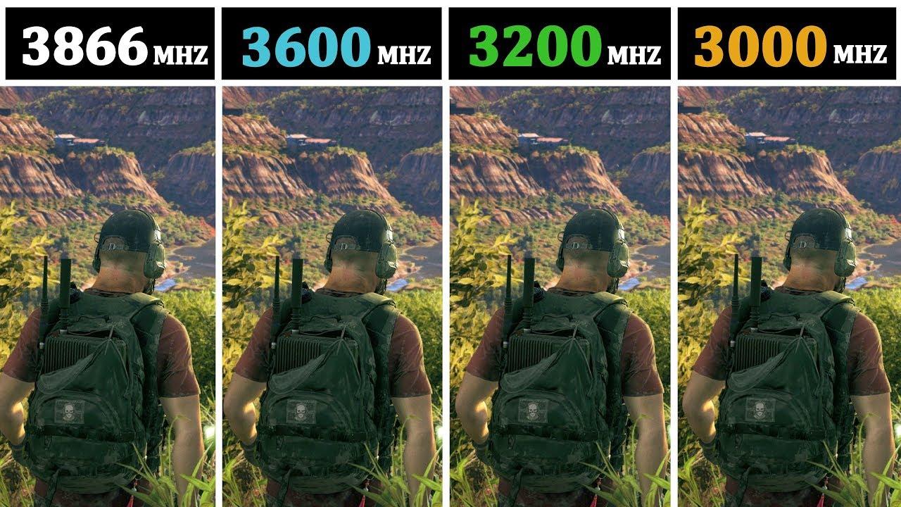 I7 8086K | 3866Mhz vs 3600Mhz vs 3200Mhz vs 3000Mhz |
