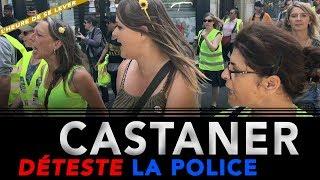 CASTANER DÉTESTE LA POLICE - 22 juin 2019 Acte 32 Gilets Jaunes Simples citoyens L'heure de se lever