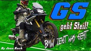 BMW geht Steil!! - Die neue F 850 GS! Technik und Begeisterung!  Jens Kuck