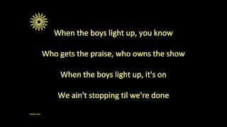 (When the Boys) Light Up - Newsboys (Lyrics in HD)