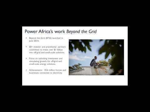 Towards Universal Energy Access by 2020 in Rwanda