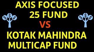 Axis focused 25 fund Vs Kotak mahindra multicap fund