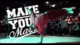 Make Your Mark NYC Bboy Battle 2015 | UDEF x Silverback x YAK