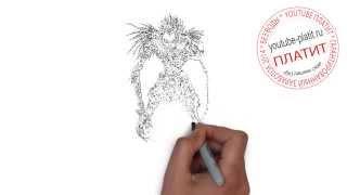 Как нарисовать человека карандашом видео(, 2014-08-08T04:17:18.000Z)