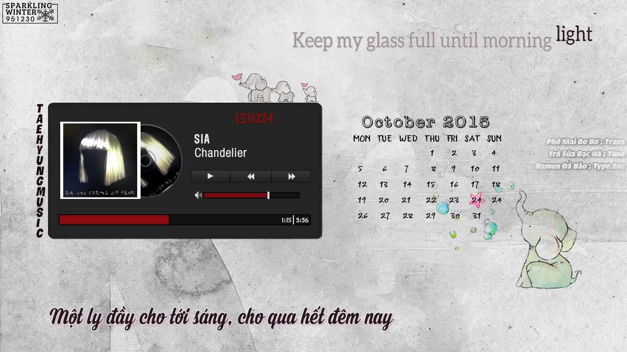 Vietsub-Kara] Chandelier - Sia - YouTube