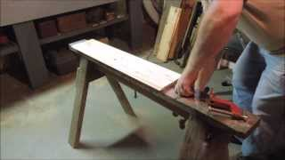 Tips & Shortcuts #5 Sawhorse Mounted Clamps - A Video Tutorial By Old Sneelock's Workshop