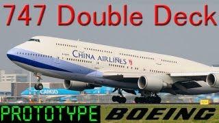 747 Full Double Deck Model HD