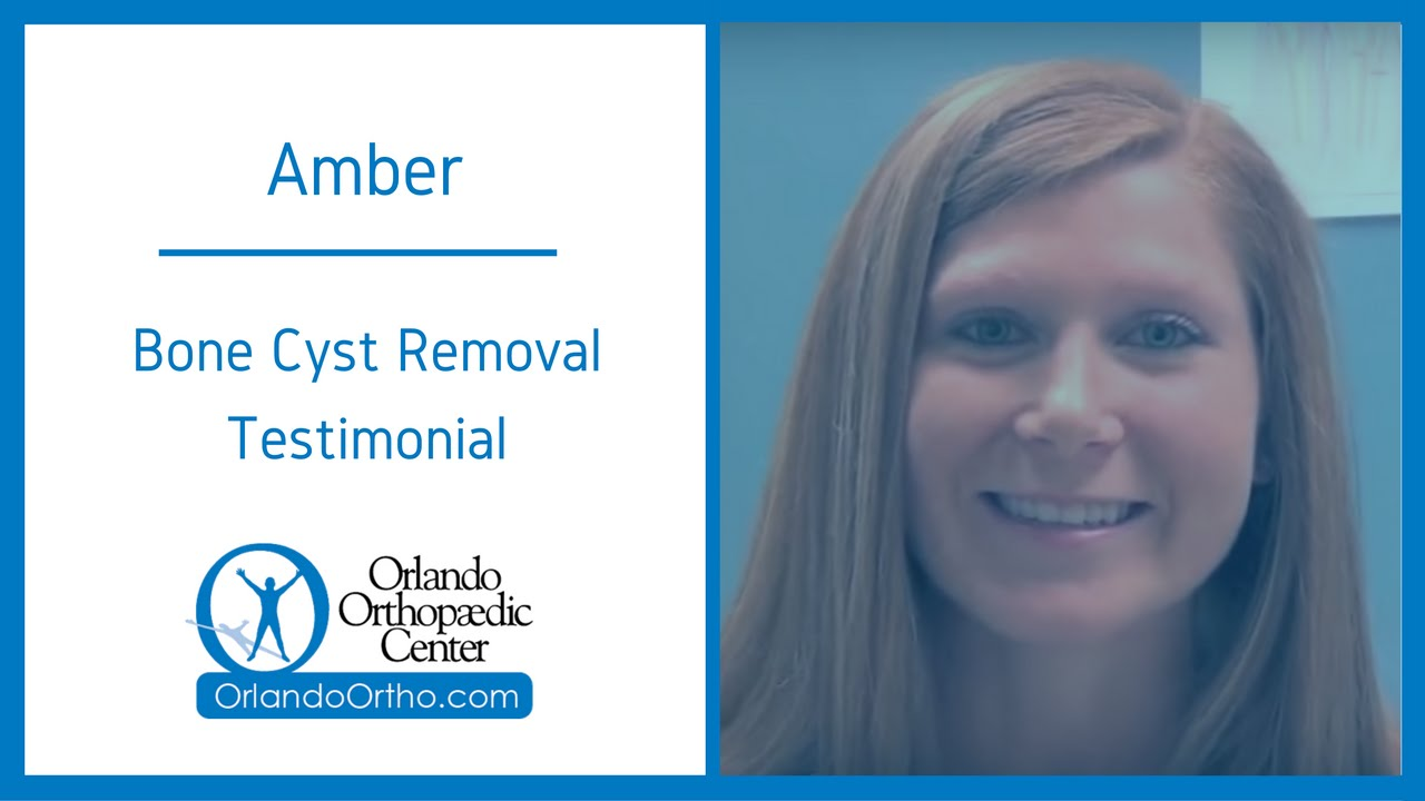 Bone Cyst Removal | Patient Testimonial - Dr  Craig P  Jones