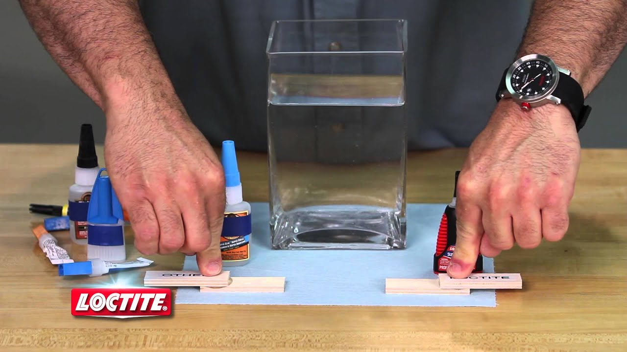 Waterproof Adhesive: Ultra Liquid Loctite Super Glue