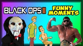 Black Ops 2 Funny Moments: Voice Trolling, JigSaw Jizz, Macho Man Randy Savage & More!