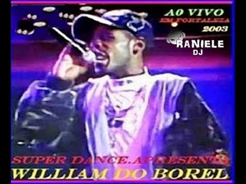 MC WILLIAM DO BOREL AO VIVO (MENFIS CLUB SUPER DANCE) 1999 By RANIELE DJ