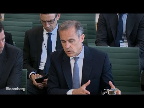BOE's Carney on Rates Guidance, U.K. Economy: Highlights