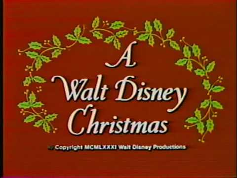 Opening to A Walt Disney Christmas 1986 VHS (Canadian Copy) - YouTube