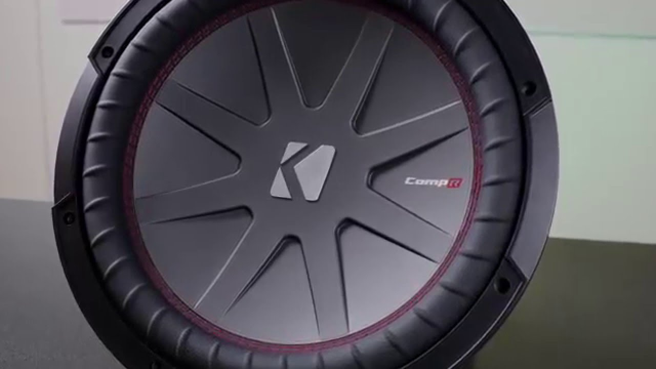 Kicker 2016 Comp R Subwoofer Youtube Subwoofers Amplifiers At Sonic Electronix Car Release Date