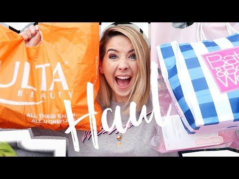 Huge American Haul (Ulta Beauty, Bath & BodyWorks, Glossier & Duane Reade) | Zoella