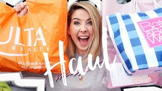 Huge American Haul (Ulta Beauty, Bath & BodyWorks, Glossier & Duane Reade) | Zoella