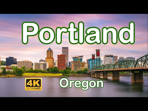 Portland, Oregon - City of Natural Beauty