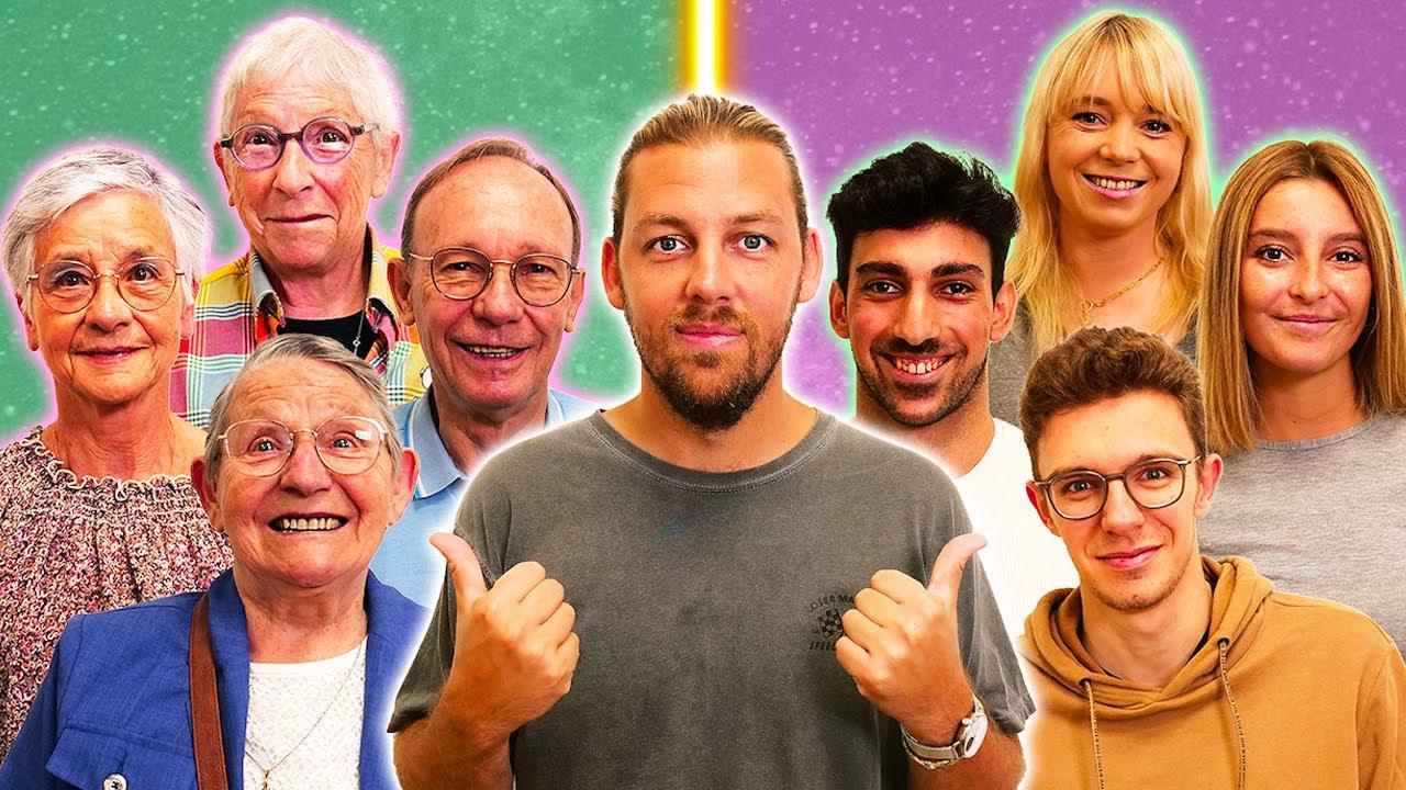 Download Qui sera la meilleure famille ? (Grands-parents VS petits enfants)