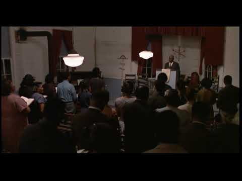 Mississippi burning extract scene church