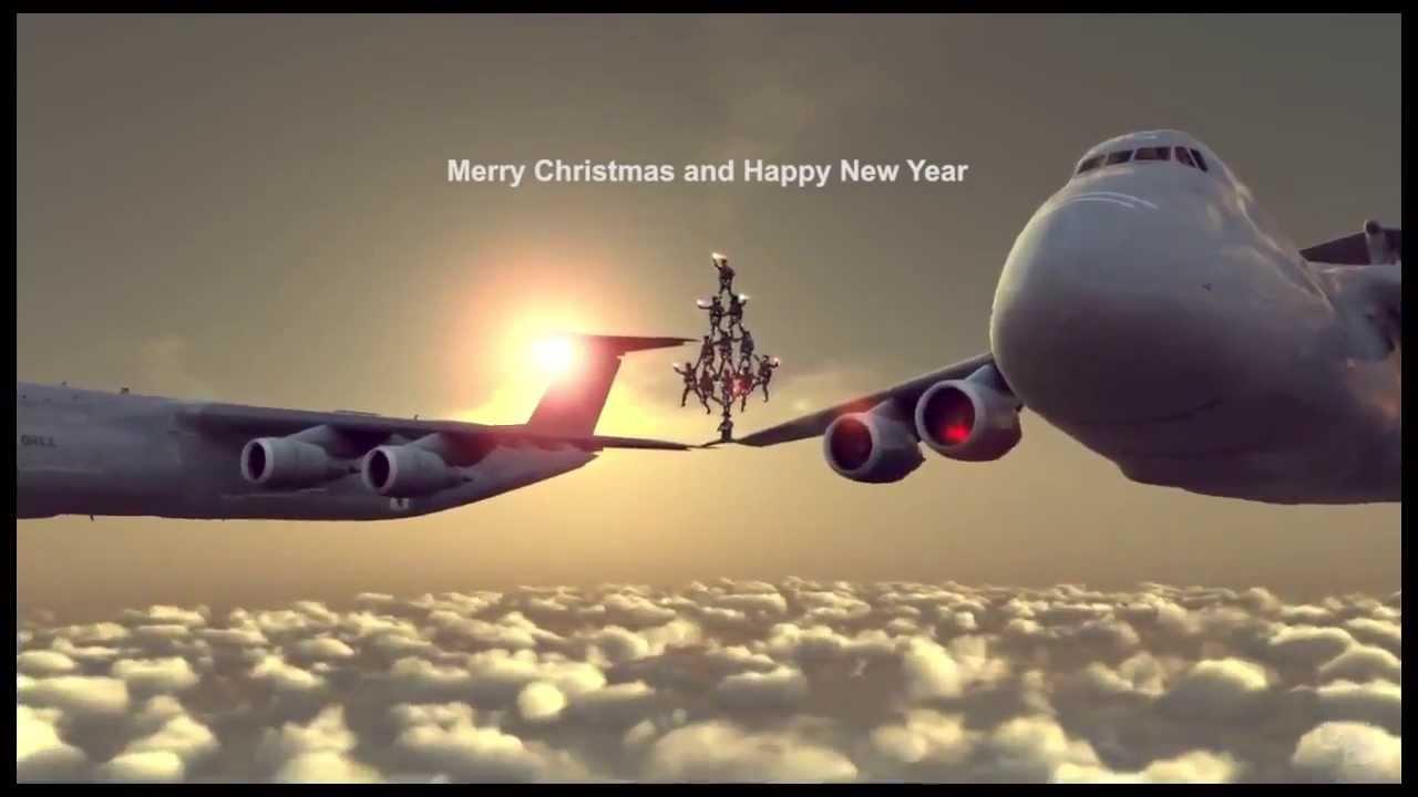 Chuck Norris Epic Christmas Leg Split Between Airplanes HD